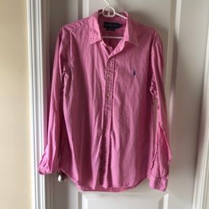 Men's Large Ralph Lauren Button Down Dress Shirt